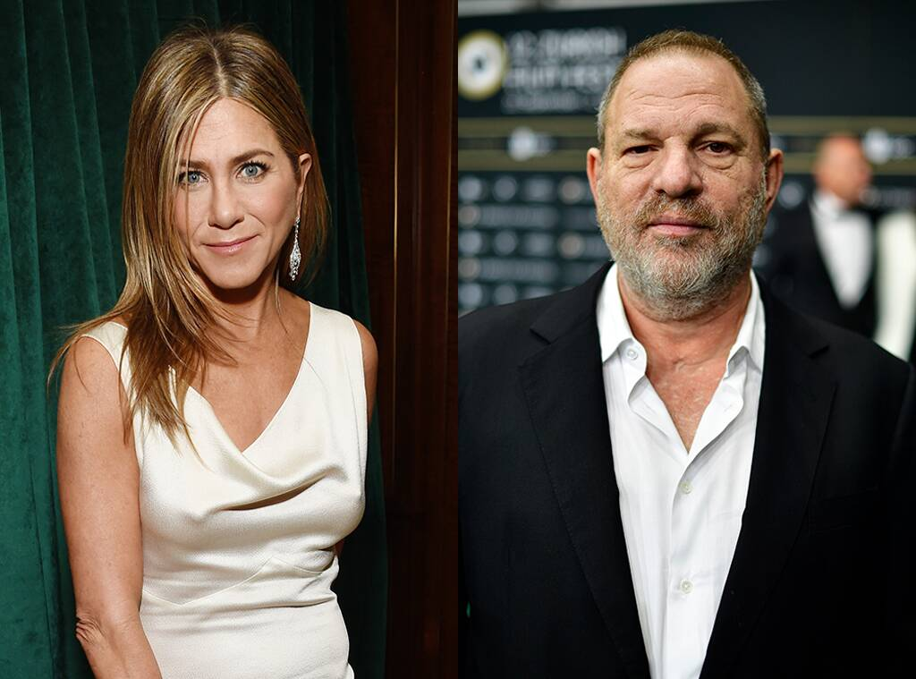 Jennifer Aniston, Harvey Weinstein, assédio