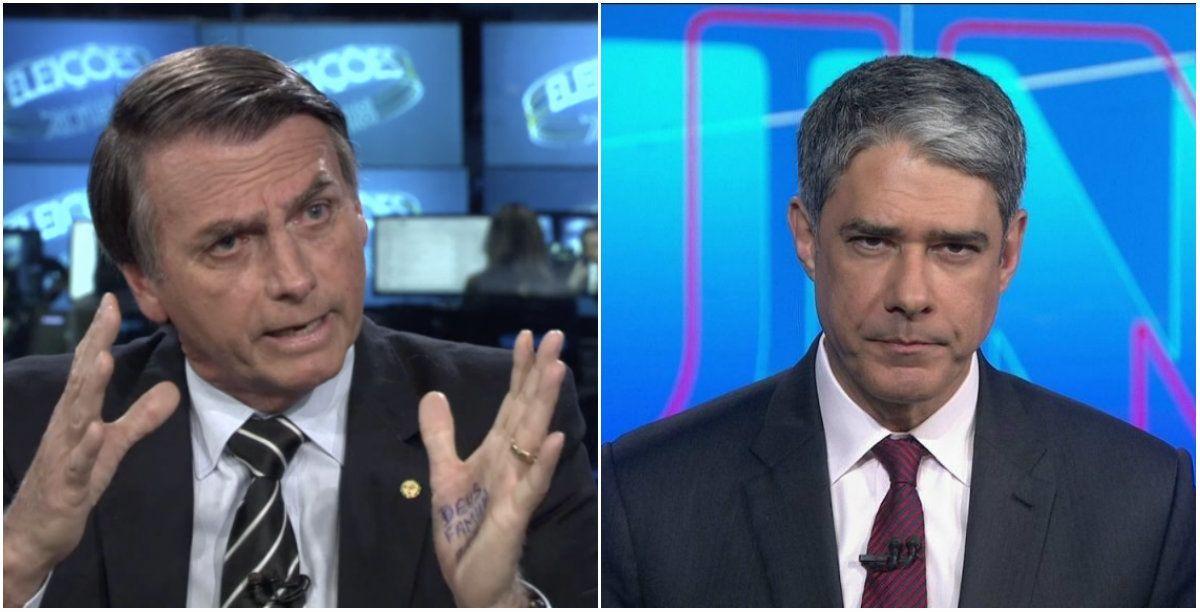 Bonner, Bolsonaro, Parana Pesquisas