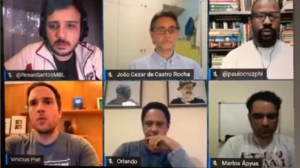 MBL, Renan Santos, Paulo Cruz, Vinicius Poit, Orlando Silva, comunismo, poligamia