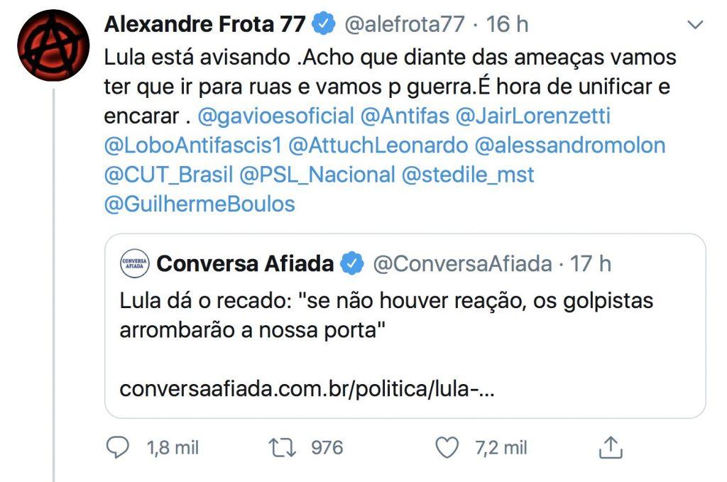 Alexandre Frota Lula