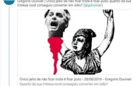 Folha Gregório Duvivier Bolsonaro decapitado