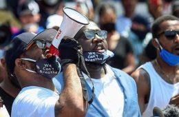 terrence-floyd, black lives matter, protestos