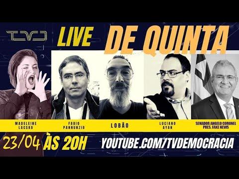 Live de Ângelo Coronel e Luciano Ayan