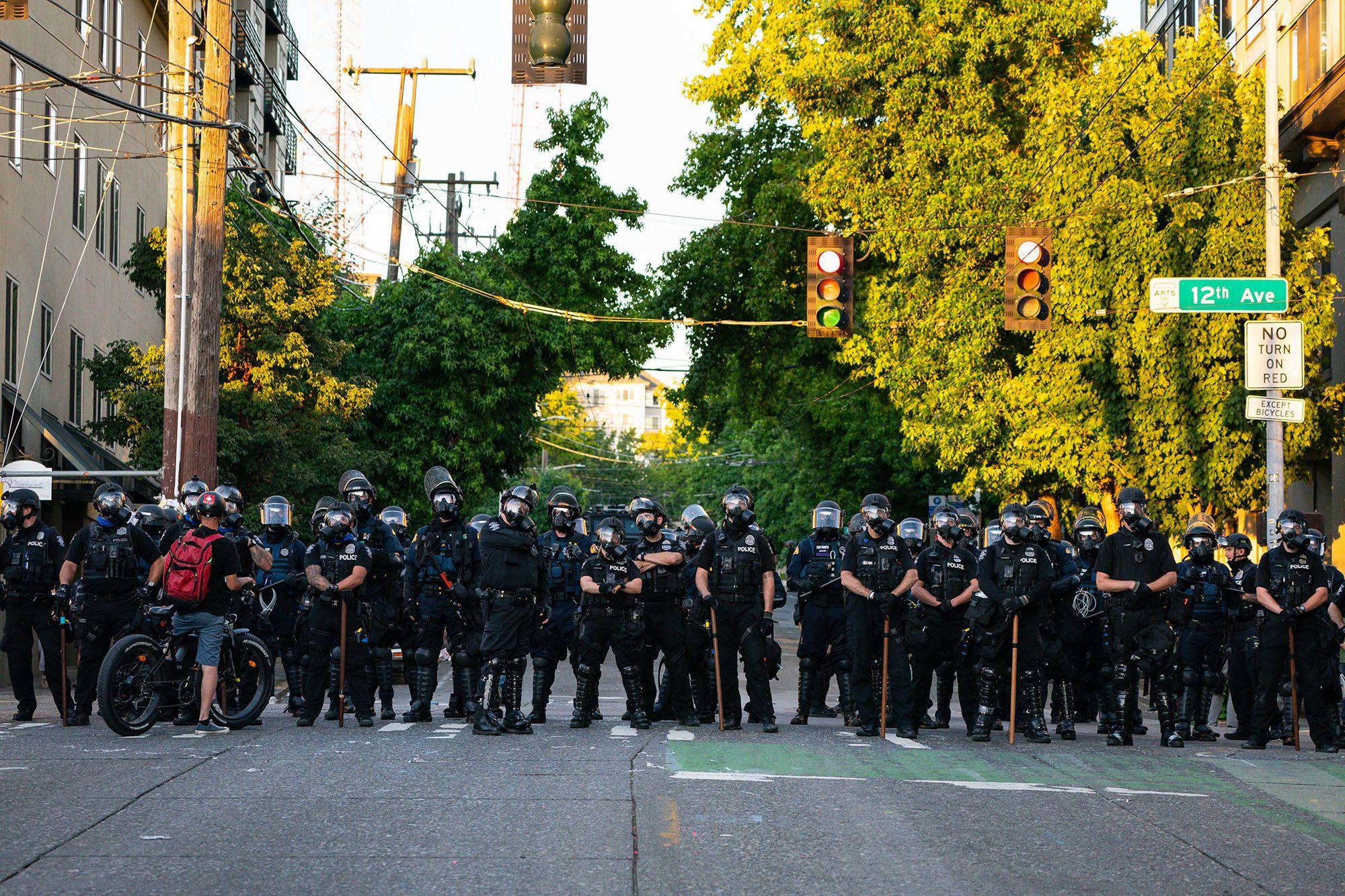 seattle, abolir, policia