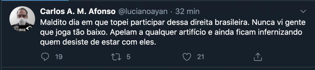 Luciano Ayan tweet