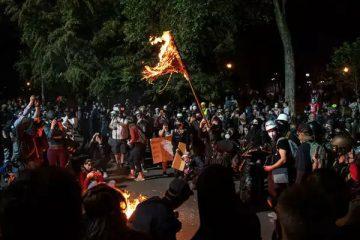 black lives matter, protesto, portland, policia, trump