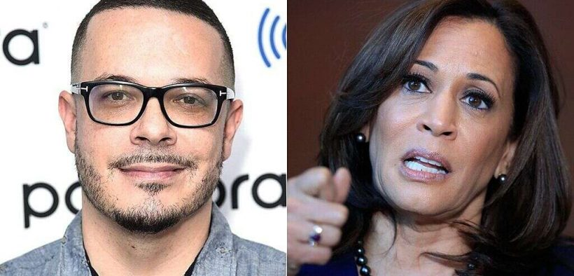 shaun king, kamala harris