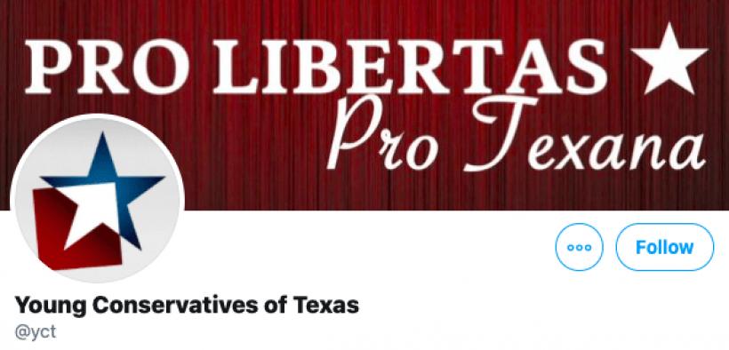 Twitter suspende conta de Jovens Conservadores do Texas por 'por engano'
