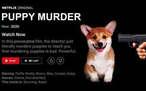 Site humorístico diz que novo filme da Netflix mata cachorros para mostrar que matar cachorros é ruim Site Babylonbee, que já foi censurado por agências estúpidas de fact-checking, fez ironia com a desculpa da Netflix para exibir filme de sexualização infantil