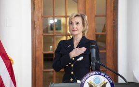 Irã tem plano para matar embaixadora americana, revela documento Em retaliação ao ataque que matou o general terrorista Soleimani, Irã tem plano para matar Lana Marks, embaixadora americana na África do Sul